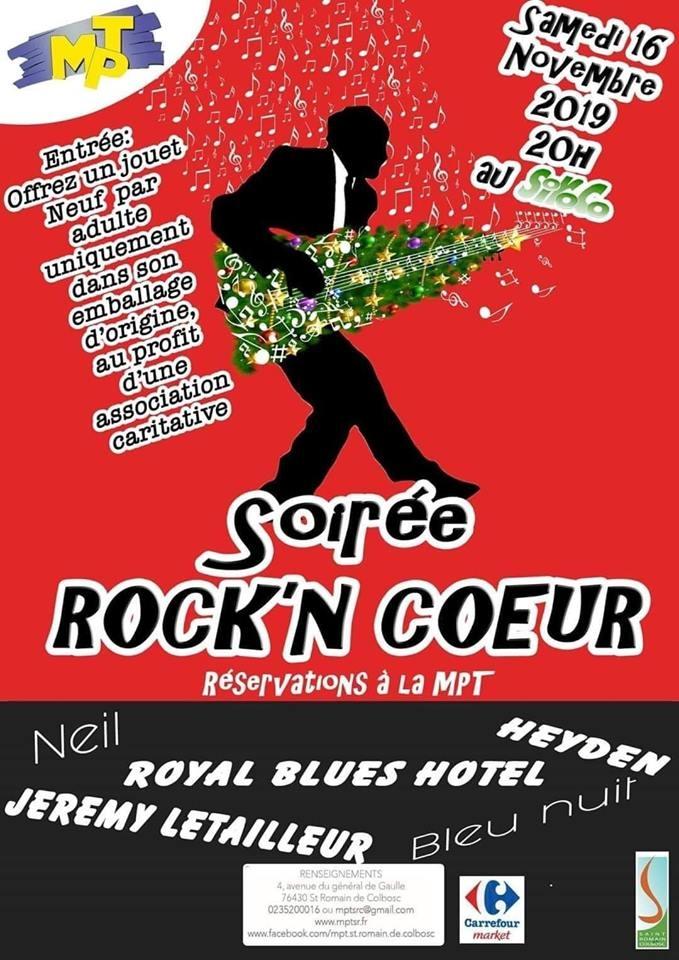 Bleu Nuit, Mickaël Feugray, Jason Feugray, Léo Dubois, la maison pour tous, Rock'n Coeur, Le Siroco.