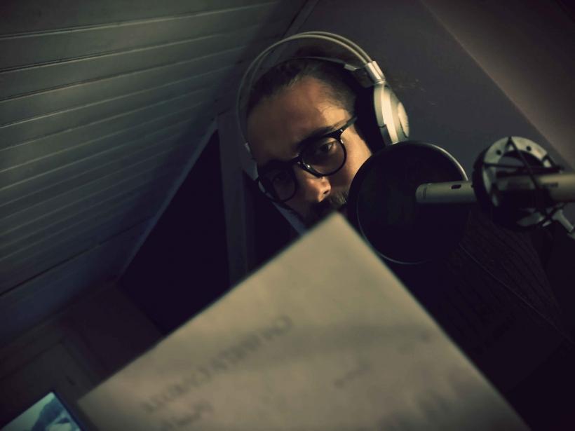 Jason Feugray, Bleu Nuit, enregistrement, folk, chanson française.