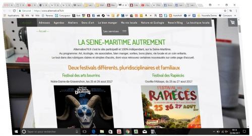Alternative76, Bleu Nuit, Feugray, Guillaume de Lucena
