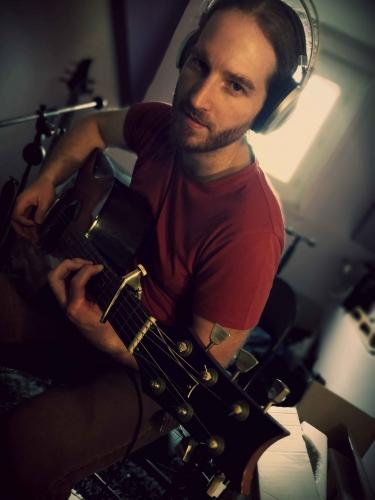 Mickael Feugray, Bleu Nuit, chanson française, folk.