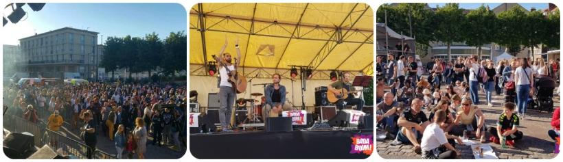 Badaboum mini festival, Bleu Nuit, Feugray.