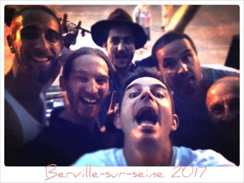 Groupe Bleu Nuit, Bouh, Mickaël Feugray, Jason Feugray, fête de la musique 2017.